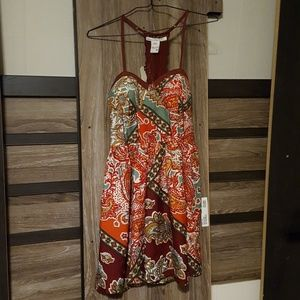Paisley Patterned Dress - NWT